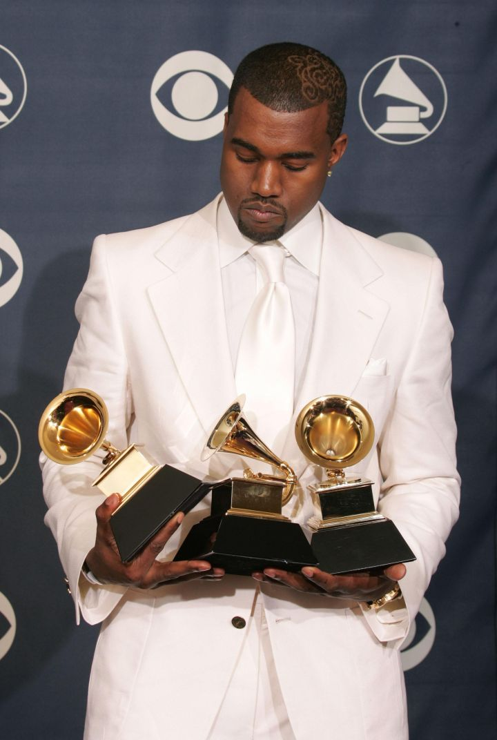 """But he apologized to Common when """"Late Registration"""" beat """"Be"""" for Best Rap Album that year."""
