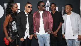 Sean Combs Quincy Brown