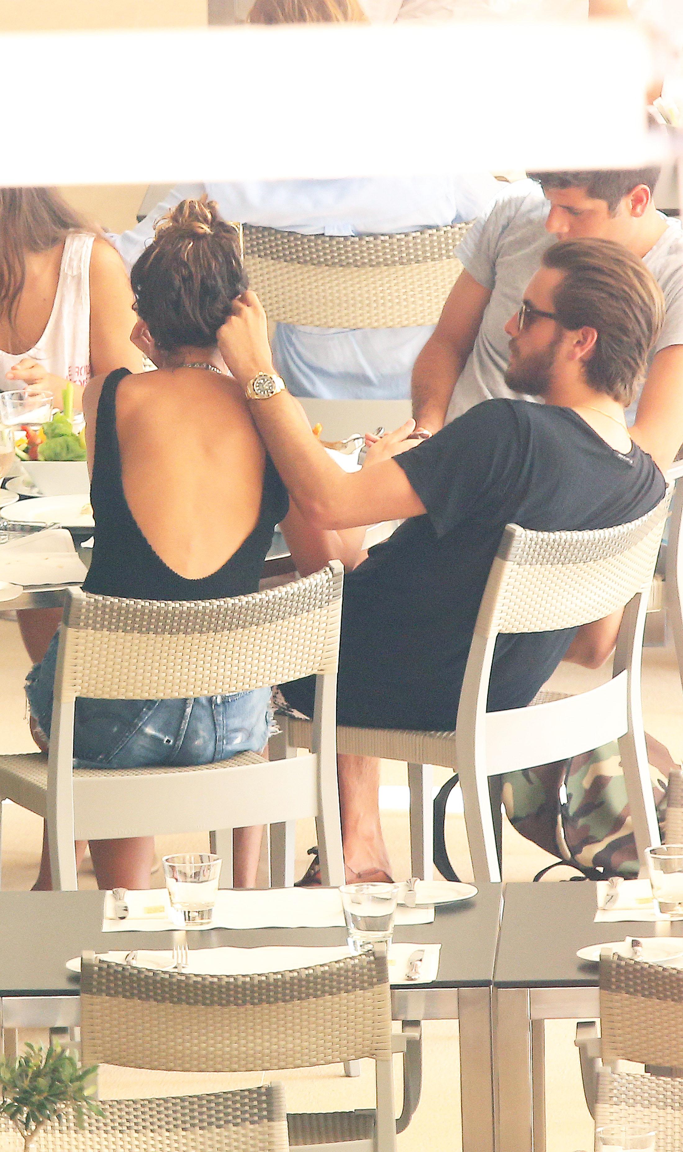 Scott Disick and Chloe Bartoli in Monte Carlo