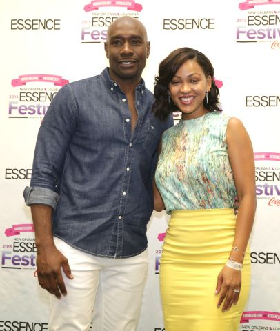 Meagan Good and Morris Chestnut at Essence Festival 2015