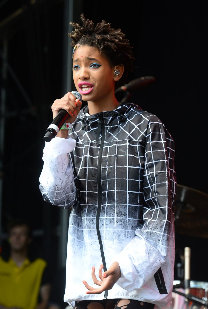 Willow Smith killed the stage at the Wireless Festival.