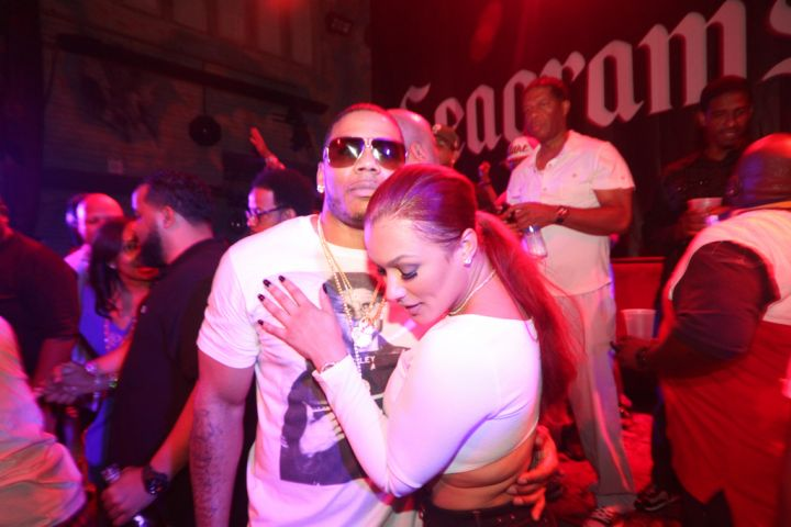 Nelly and his bae Miss Jackson had a moment in New Orleans as he hosted a party at House Of Blues with Seagrams Gin.