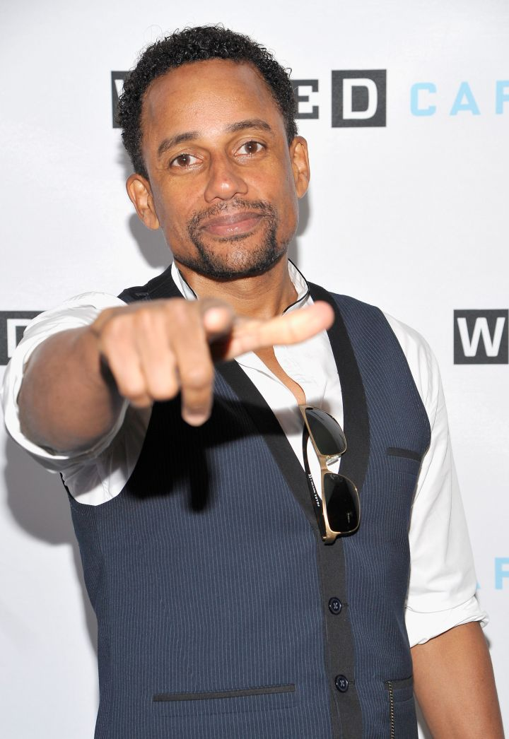 """Limitless"" actor Hill Harper attends WIRED Cafe at Comic-Con 2015 in San Diego at Omni Hotel."
