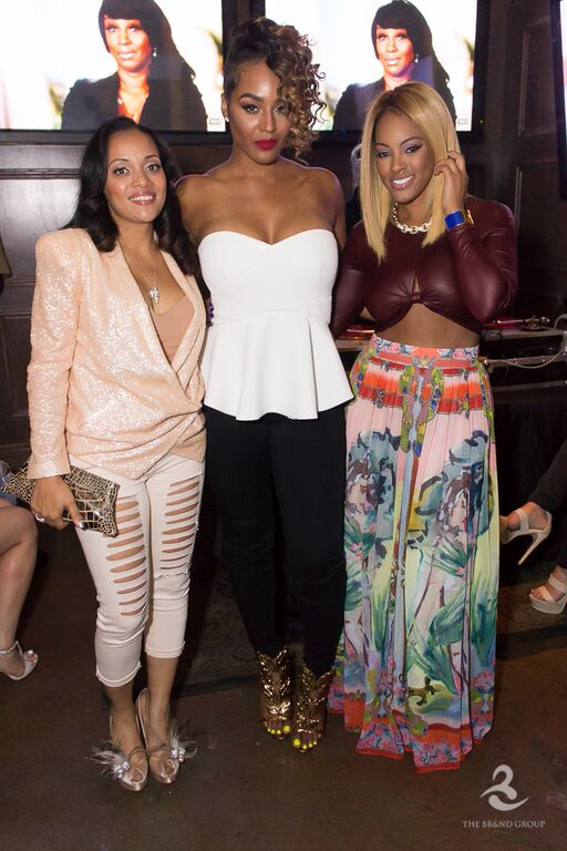 BBWLA stars Patrice Curry, Brandi Maxiell, and Malaysia Pargo attend viewing event in Hollywood.