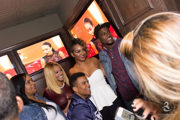 BBWLA stars Malaysia Pargo and Brandi Maxiell attend viewing event in Hollywood.