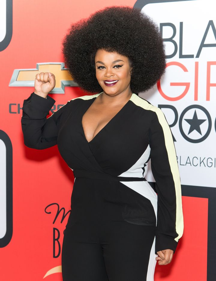 Natural charm and elegance comes easy for Jill Scott.
