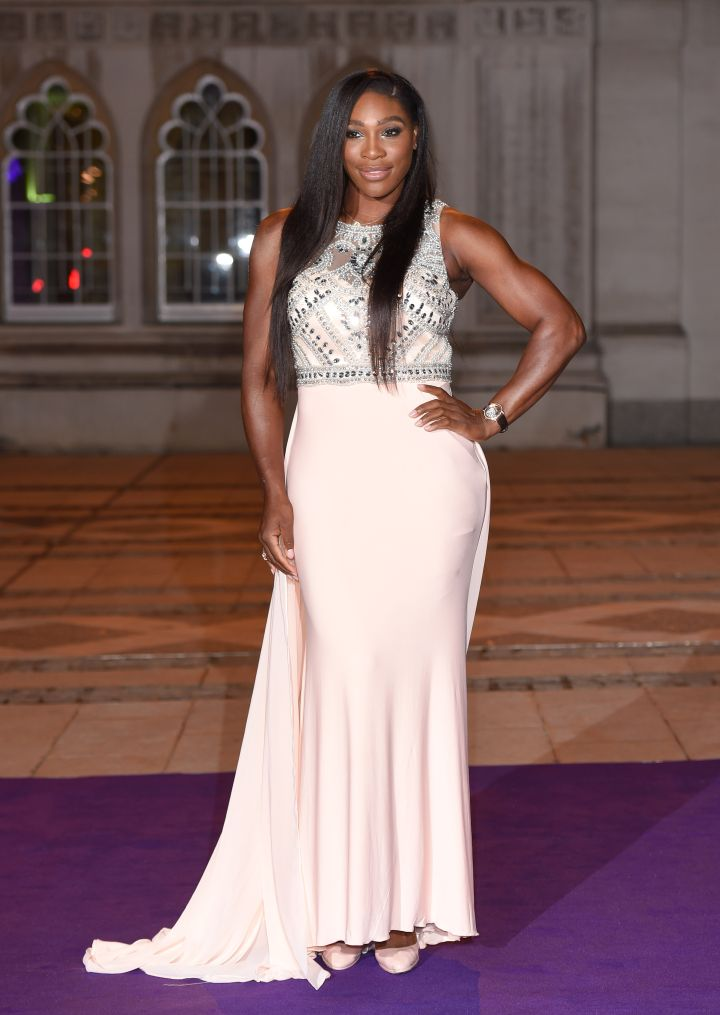 Serena Williams is strong.