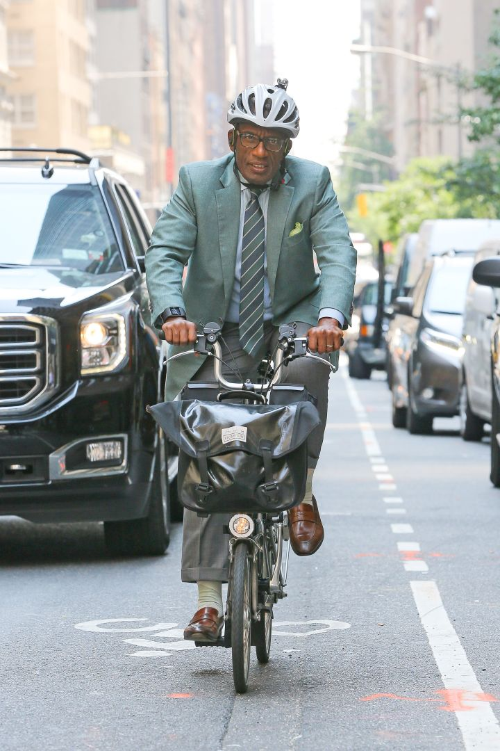 Al Roker is riding dirty through New York without his woes.