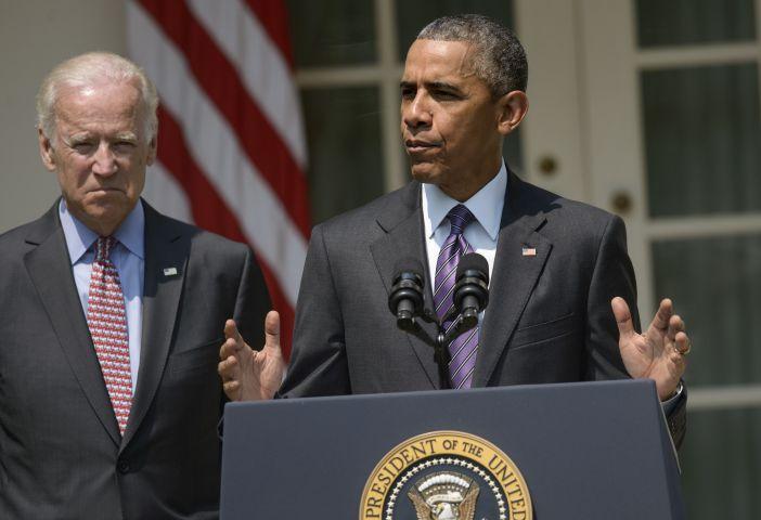 Barack Obama & Joe Biden