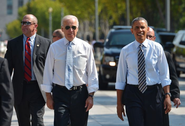 Barack Obama & Joe Biden