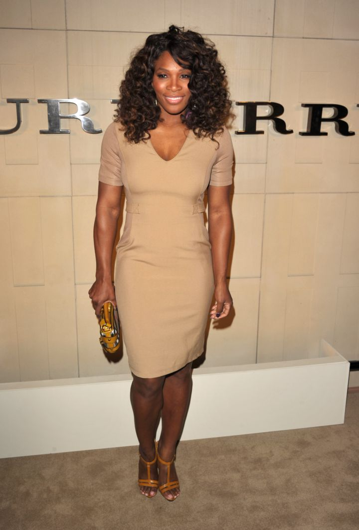 Serena knows how to dress it up!