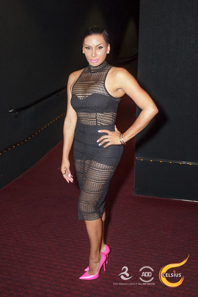 Move over Beyonce. Laura Govan kills it in a sheer dress.