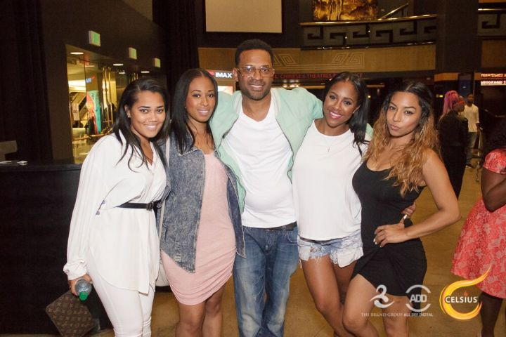 The sexy ladies of the The Brand Group almost steal the spotlight from Mike Epps.