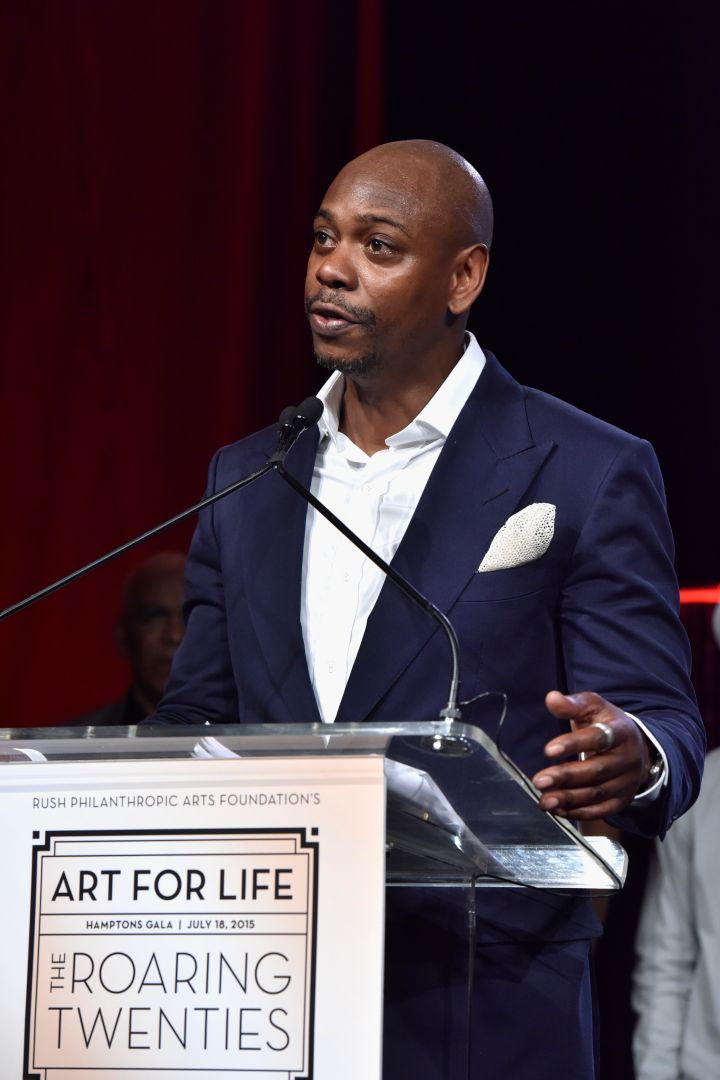 Another honoree: Dave Chappelle.