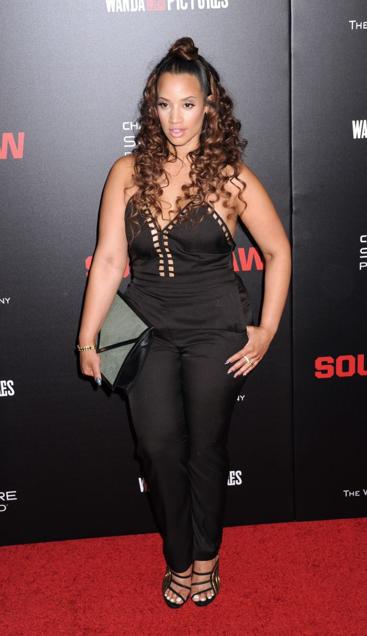 """Dascha Polanco was a sight for sore eyes at the """"Southpaw"""" premiere in NYC."""