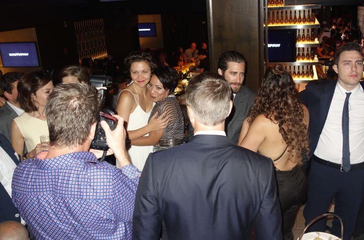 Jake Gyllenhaal, Rachel McAdams & Dascha Polanco, southpaw premiere