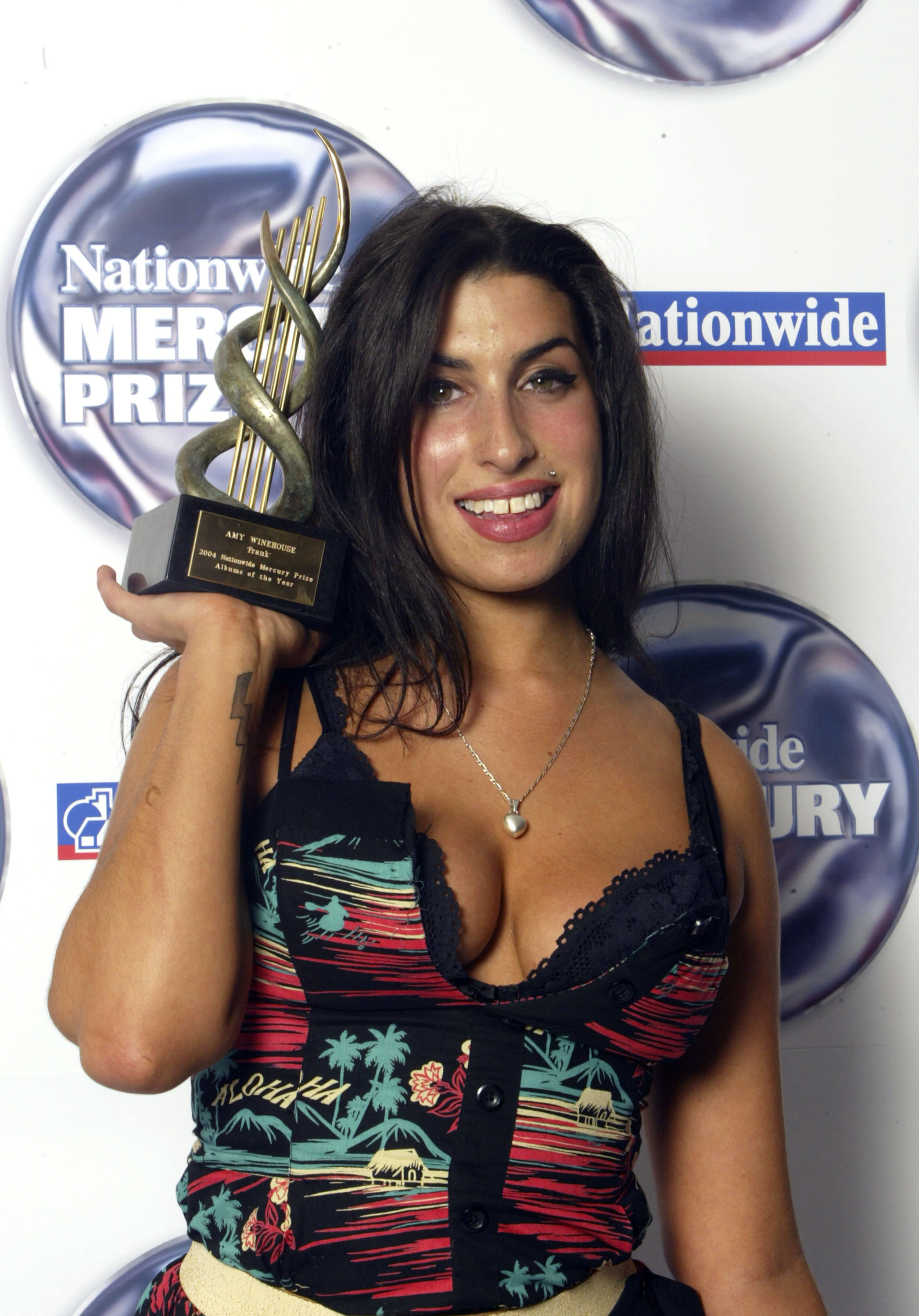 Amy at the 2004 'Nationwide Mercury Music Prize'