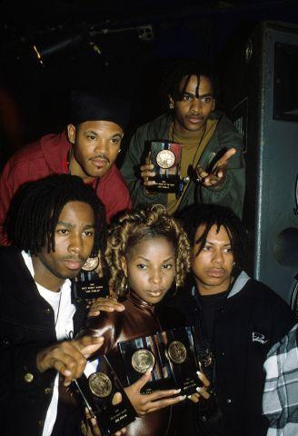 Joe Public & Mary J. Blige in 1992