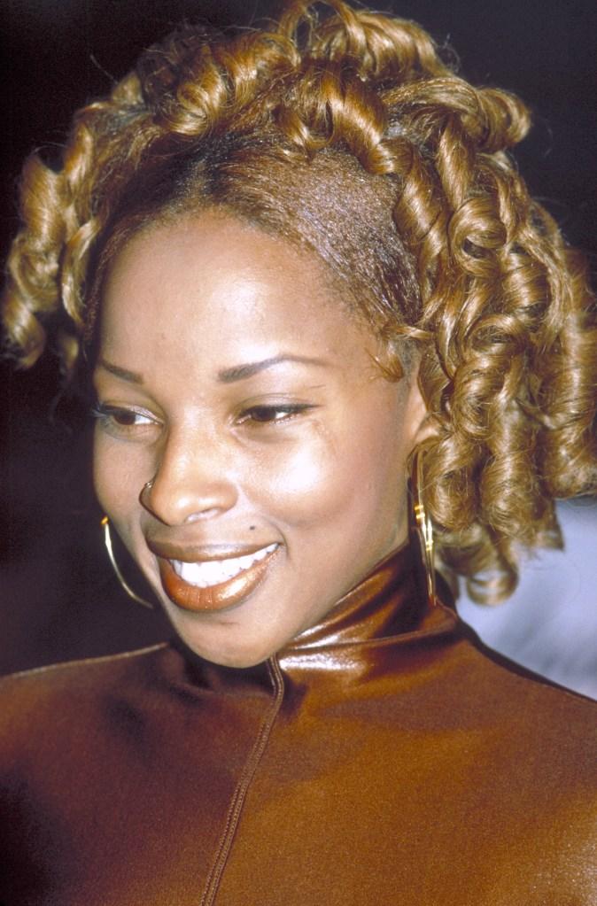 Mary J. Blige at Beacon Theater - 1992