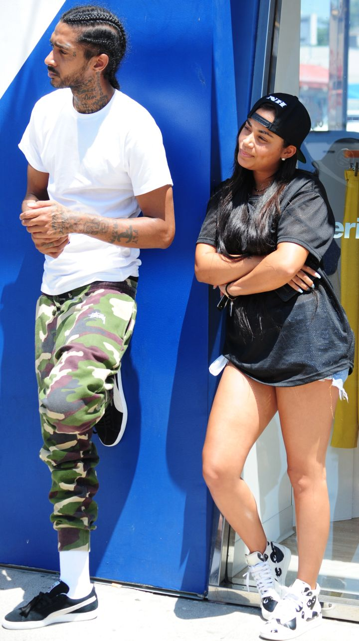 Nipsey Hussle and his actress girlfriend Lauren London got into a car accident with some newbie paparazzi. The rapper told the cameramen they were being aggressive and struck them with his vehicle as they tried to secure photos of the star couple shopping in the trendy Melrose area.