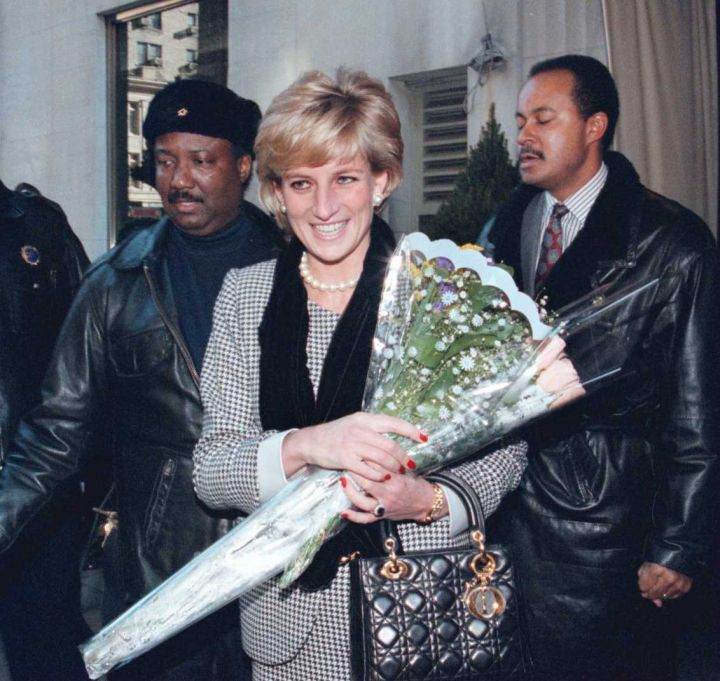Princess Diana (age 36): died in a traffic collision trying to avoid paparazzi in 1997.