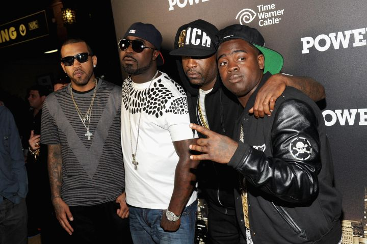 G-unit: We can't forget about the clothing company that 50 Cent started in 2003 and relaunched in 2010. 50 maintains full ownership of the clothing line.