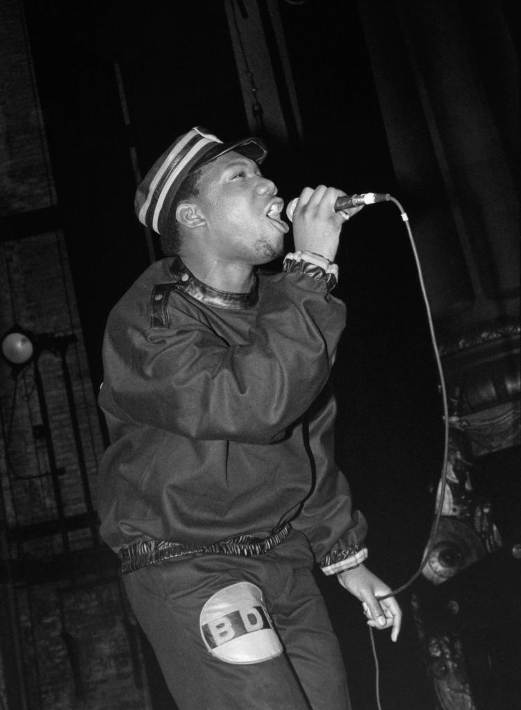 Photo of KRS-1 and KRS ONE