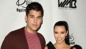 Rob Kardashian and Kim Kardashian