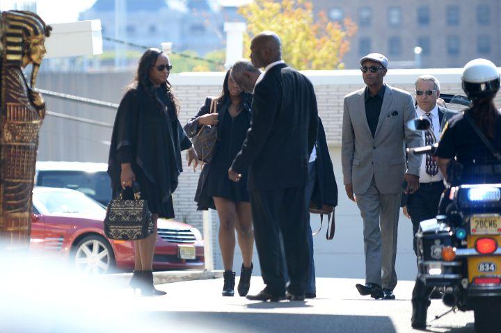 Pat Houston and family gathered for Bobbi Kristina's funeral.