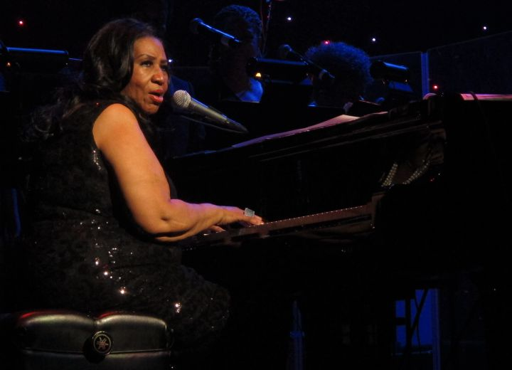 Aretha Franklin performed her greatest hits at the Microsoft Theater in L.A.