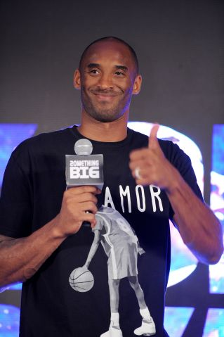 "Kobe Bryant promotes ""NBA Hero"" mobile game in Shanghai"
