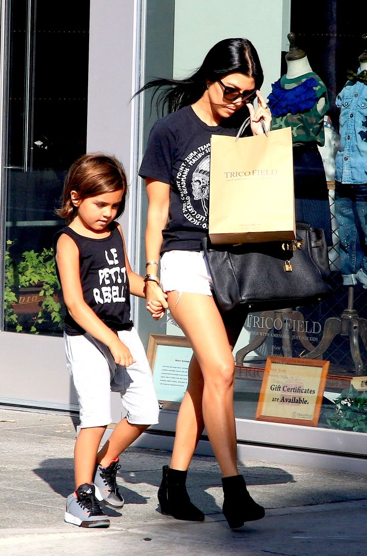 Kourtney Kardashian and Scott Disick's son Mason is so big now!