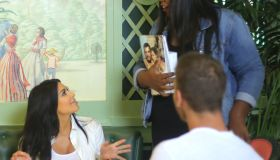 pregnant Kim Kardashian celebrates fan's birthday