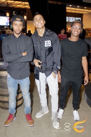 Quincy & Giovanni - Celebrities attend All Def Comedy Live