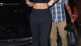Rihanna in SoHo