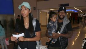 Megaa with parents Omarion and Apryl Jones