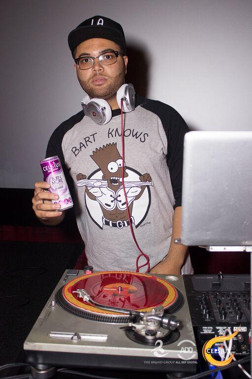 DJ Printz droppin' beats at All Def Comedy Live.