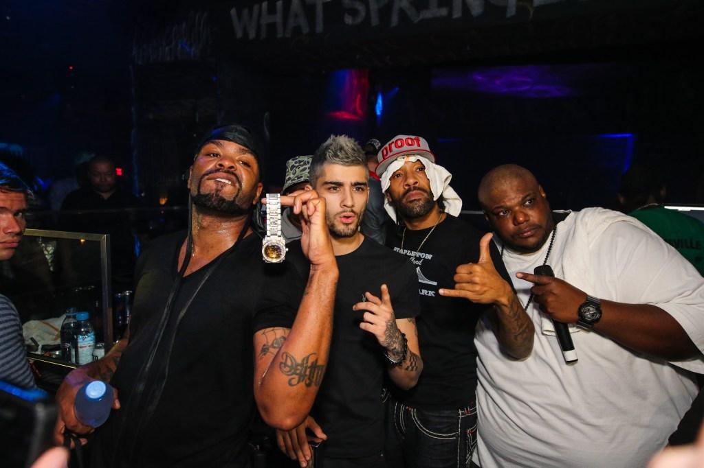 Zayn Malik parties with Method Man and Redman in Vegas
