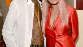 rita ora and wiz khalifa at the Teen Choice Awards 2015 - Backstage And Audience