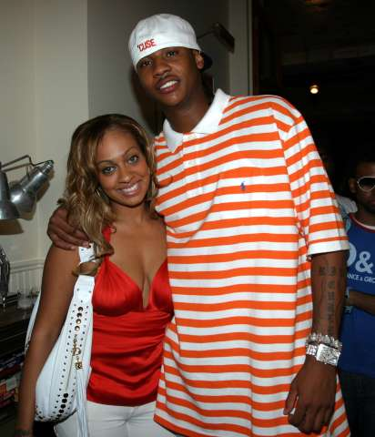 Carmelo and Lala Anthony