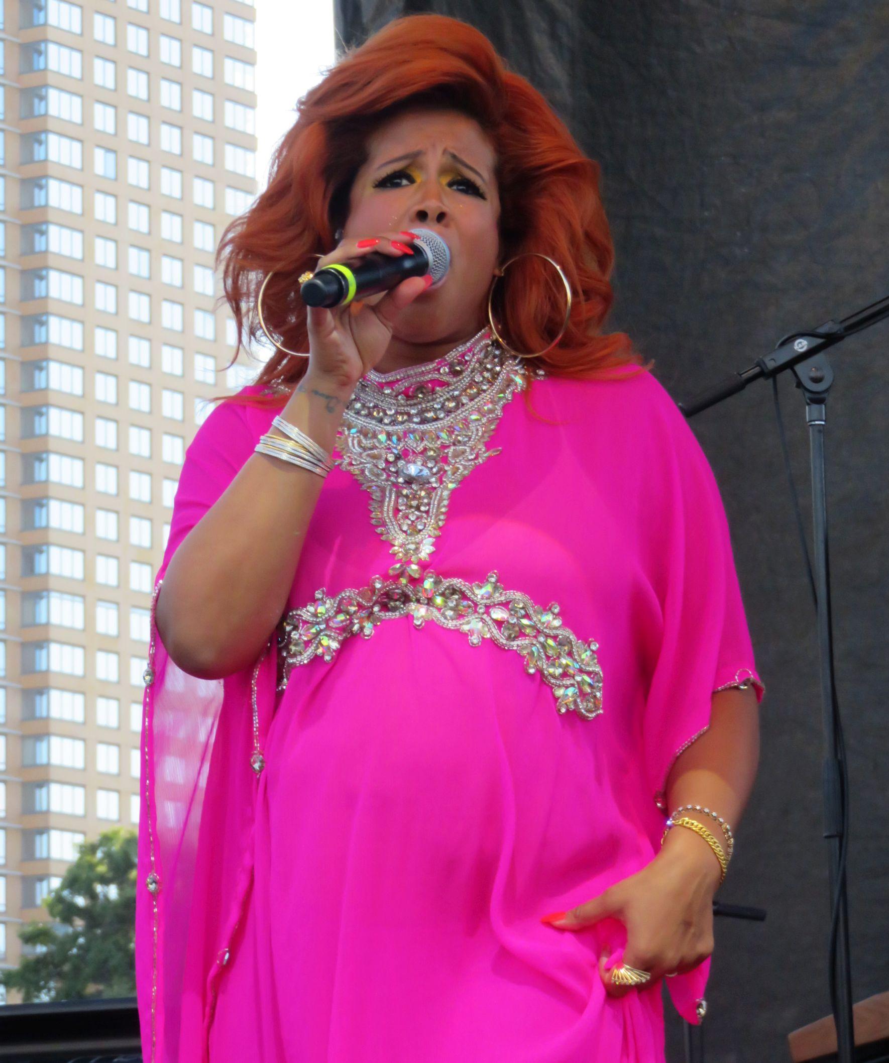 Kelis performs at Afropunk Festival