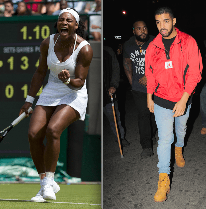 That Time Drake Showed Up To Watch Serena Win At Wimbledon, And Then….