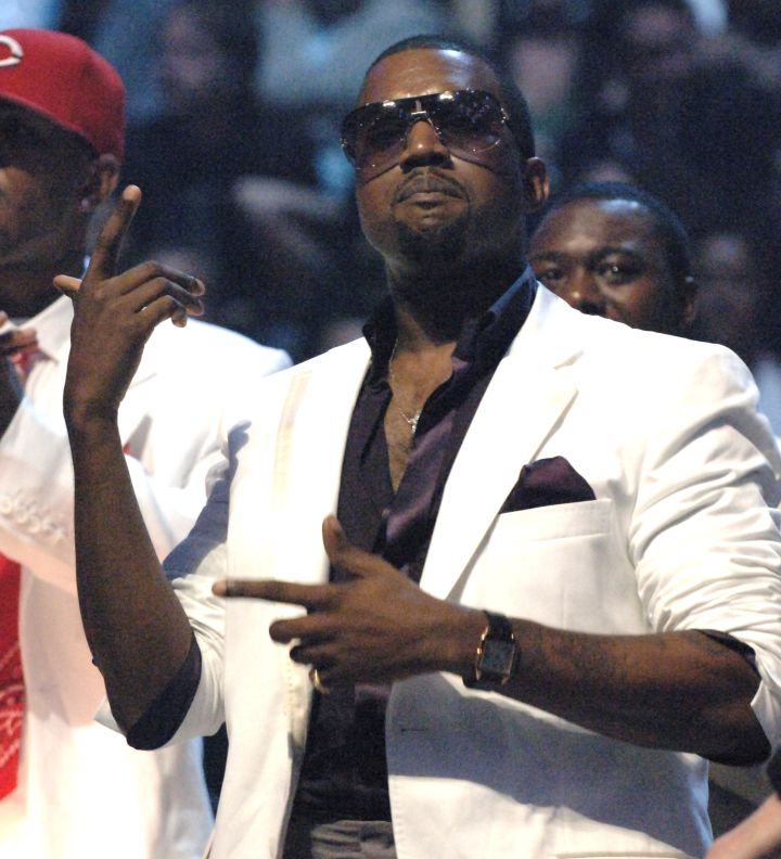 Back when Kanye smiled and got turnt at award shows.