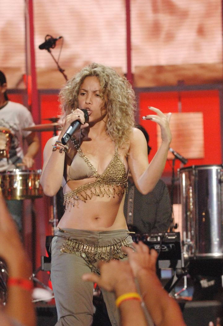 """When Shakira would go """"Wherever, Whenever."""""""