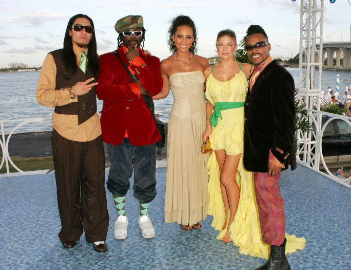 Before stylists and children for Alicia Keys and Fergie.