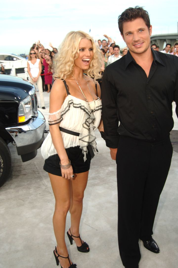 """When Jessica Simpson and Nick Lacey were """"Newlyweds."""""""