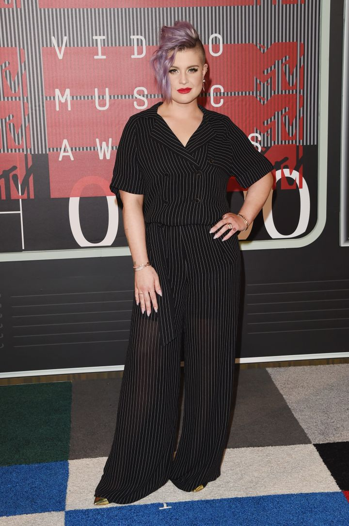 Kelly Osbourne attended to host the pre-show.