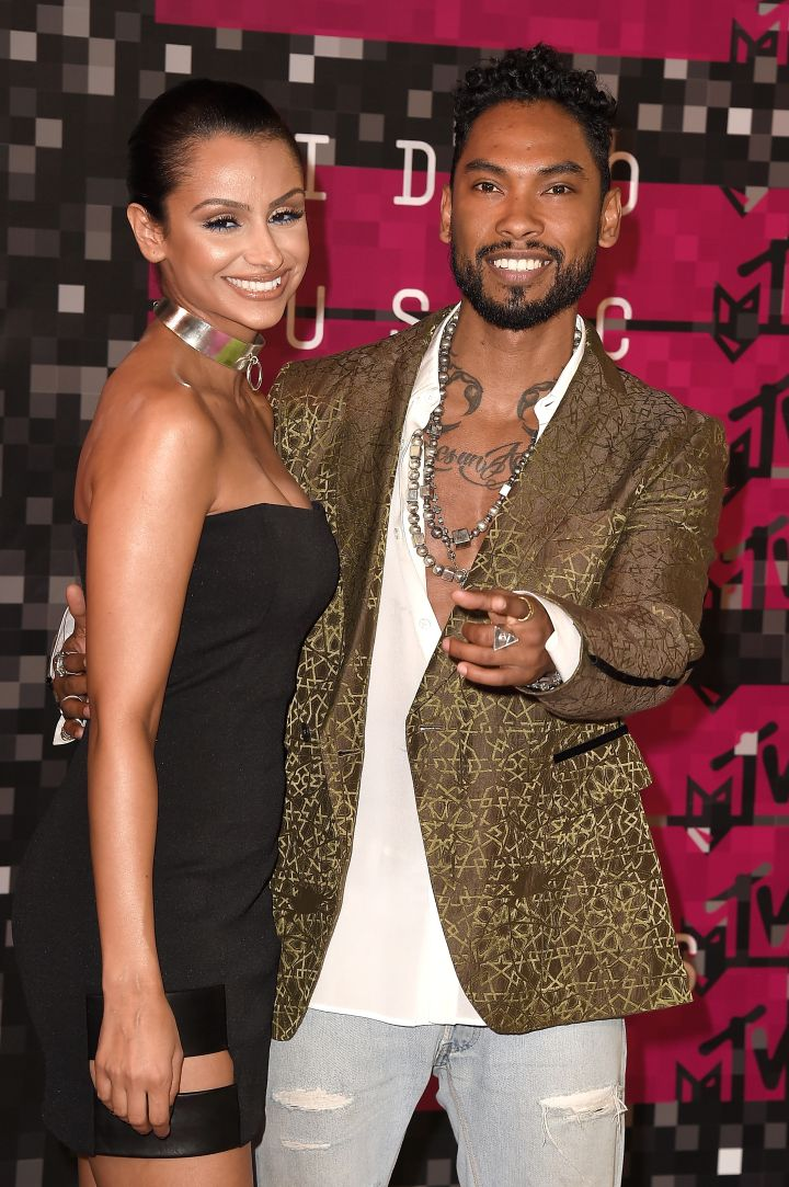 Miguel was looking fly in YSL.