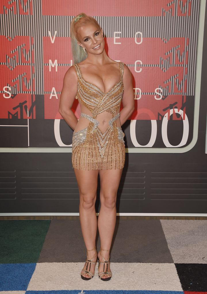 Still got it! Britney Spears was everything in a see-through sequined number.