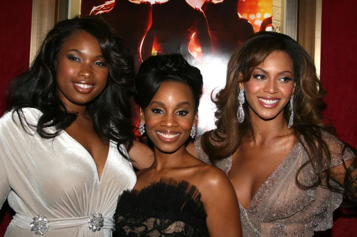 Beyonce and her Dream Girls, Jennifer Hudson and Anika Noni Rose.